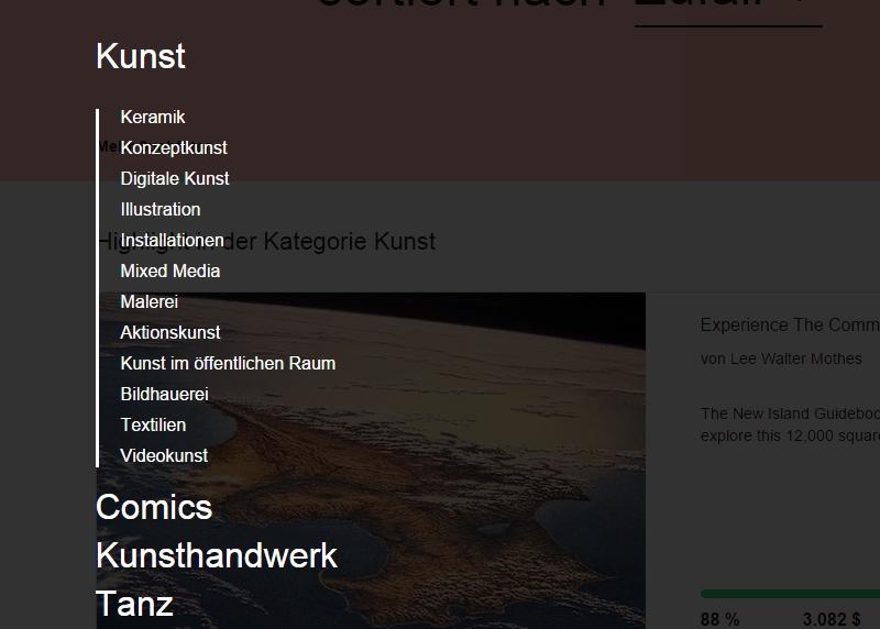 kickstarter-unterkategorien